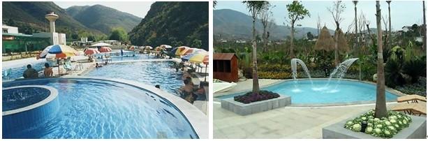 是攀枝花市政府在红格温泉旅游度假开发区招商引资发展旅游经济的起动