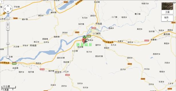 西陕县风景区